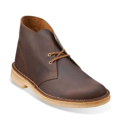 4e2966b53be Clarks Originals Desert Boot in Beeswax Leather