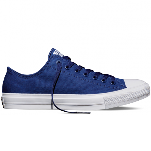 sports shoes bf426 06325 CONVERSE CHUCK II LOW TOP BLUE