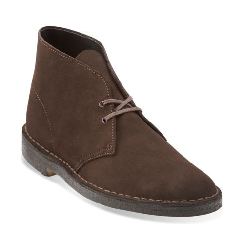 Clarks Brown suede desert boots fashion shoes clearance  hot sale online