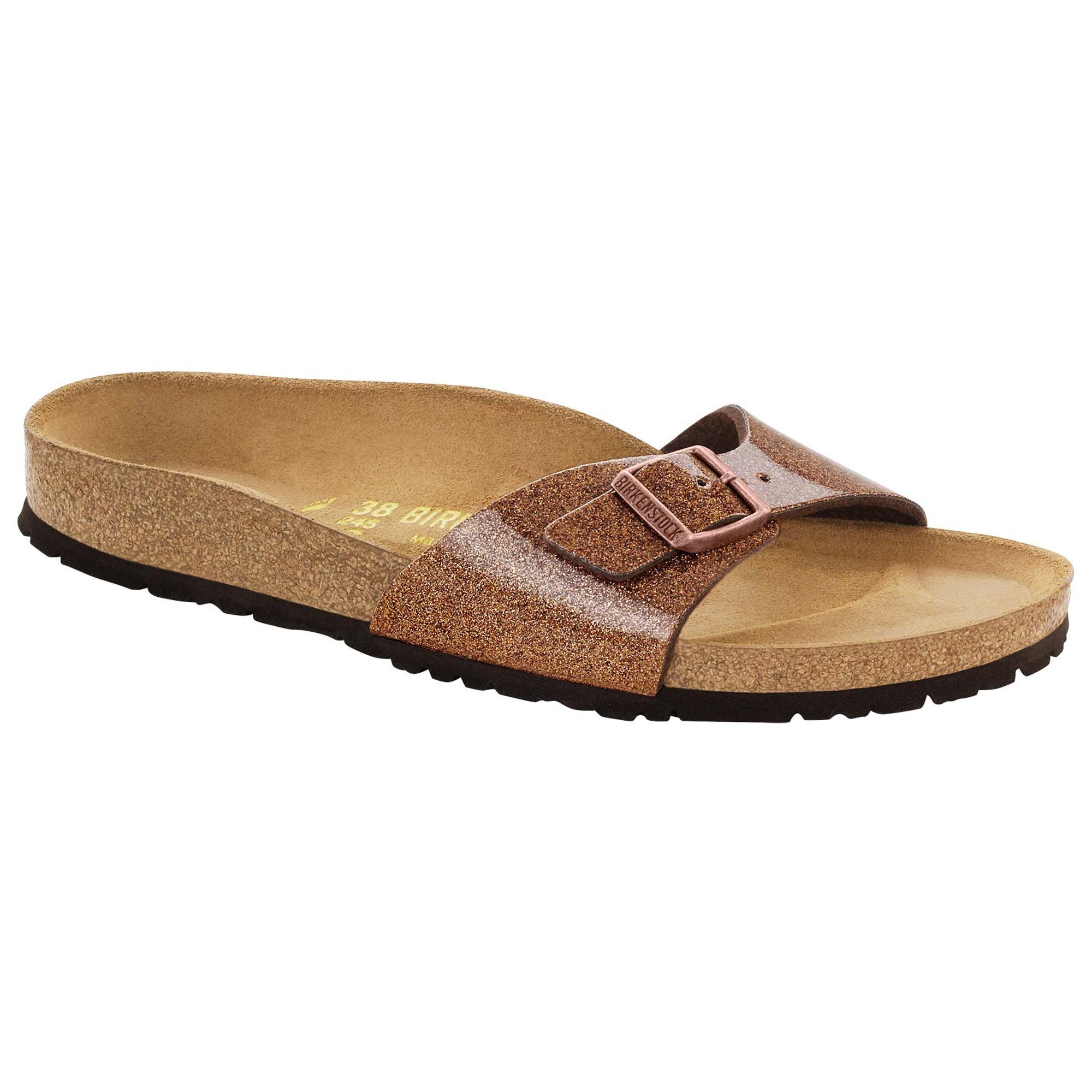 9cdc9502b34 Birkenstock Madrid Birko-Flor in Magic Galaxy Bronze